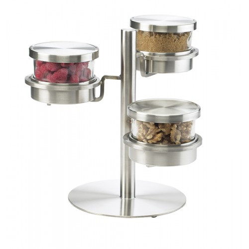 3 Tier Chilled Mixology Displays - Cal-Mil Plastic Products Inc
